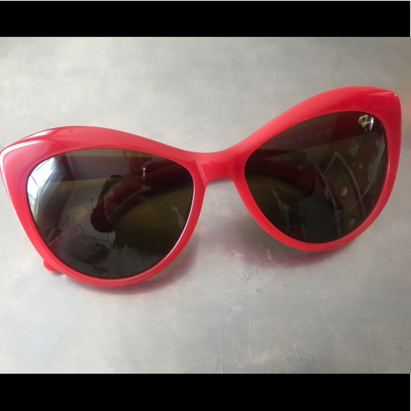 Tory Burch Accessories - Red Tory Burch Sunglasses